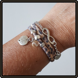 Armband Leopard - Sisters always