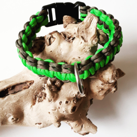 Halsband Dog Camo Neon