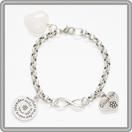 Infinity armband - Mother & daughter for Infinity