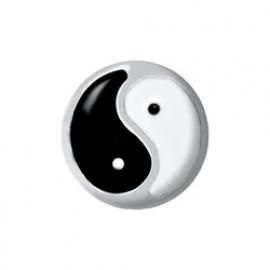 Floating locket - charm Ying Yang