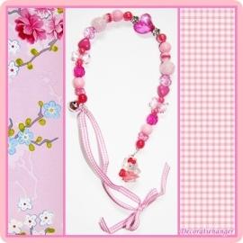Decoratiehanger roze - Hello Kitty