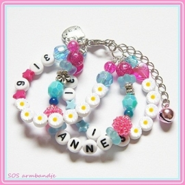 SOS armband - 3 rijen