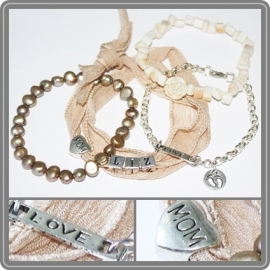 Mama armband set - 1 naam