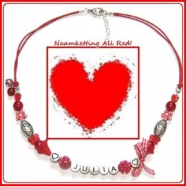 Naamketting All Red!