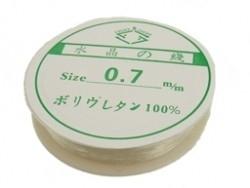 Rijg elastiek 0,7 mm. - per meter