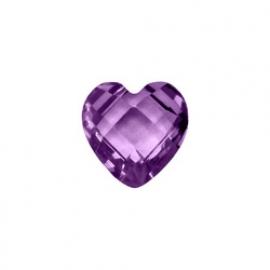 Birthstone hart - februari