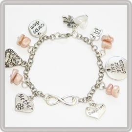Infinity armband Mother & Daughter for Infinity