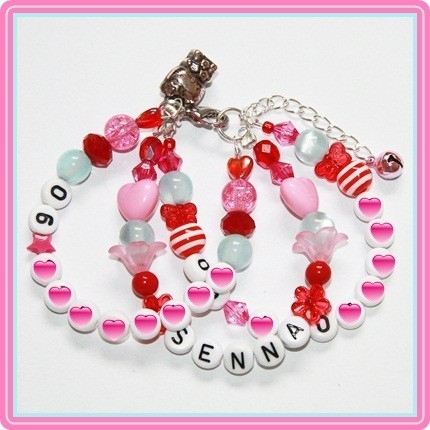 SOS armband Pink/Red/Blue