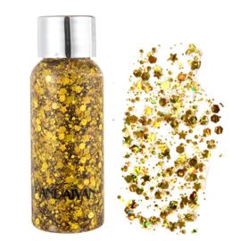 Glitter Gel - Goud