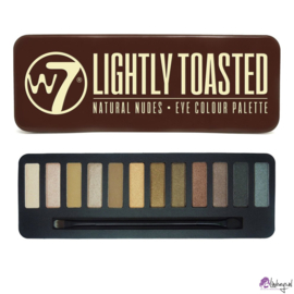 W7 Lightly Toasted Tin - 12 Kleuren Oogschaduw Palette