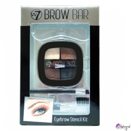 W7 Brow Bar Wenkbrauw Stencil Kit