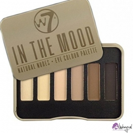 W7 In The Mood oogschaduw palette