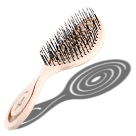 Chiara Ambra Haarborstel Beige