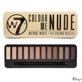W7 In The Nude - 12 Kleuren Oogschaduw Palette