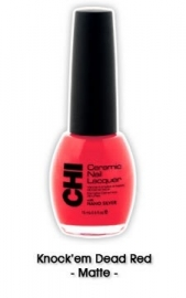 CHI Nail lacquer Knock`em Dead Red CL057