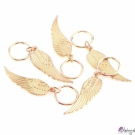 Haarsieraad Vleugel - goud