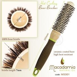 Macadamia 100% Boar Hot Curling Brush 33mm