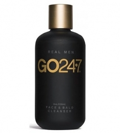 GO 24.7 Real Men Face & Bald Cleanser