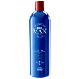 CHI MAN 3 IN 1 Shampoo -  Conditioner - Body Wash