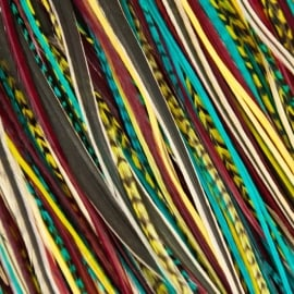 Fine Featherheads Native Tie Wispers