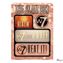 W7 Glam Box Eye Tin set