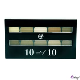 W7 perfect 10 out of 10 Oogschaduw Palette - Bruin