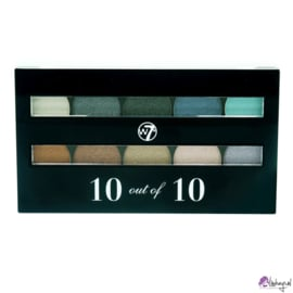 W7 Perfect 10 out of 10 Eyeshadow Palette - Mixed