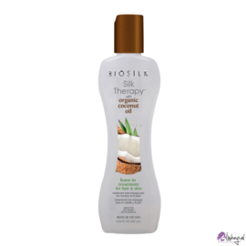 Biosilk Silk Therapy with Organic Coconut Oil Leave-In Treatment