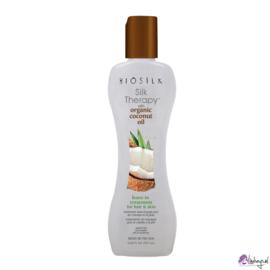 Biosilk Silk Therapy with Organic Coconut Oil Leave-In Treatment