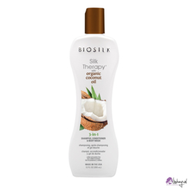 Biosilk Organic Coconut Oil 3-in-1