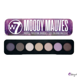 W7 Moody Mauves eyeshadow tin