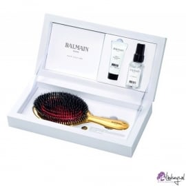 Balmain golden brush set