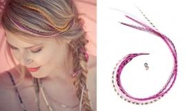 Featherheads Pretty in Pink Originals bundel van vier