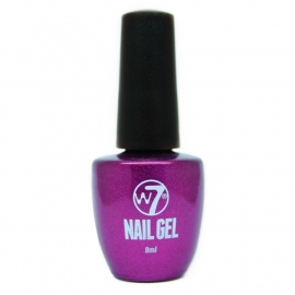 W7 Gel Nagellak - Purple Sparks
