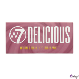 W7 Delicious Natural en Berry oogschaduw pallet