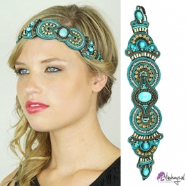 Pink Pewter Elia Turquoise Haarband