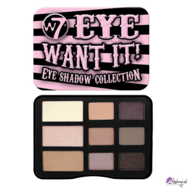 W7 Eye Want It oogschaduw palette
