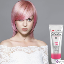 CHI Ionic Color Illuminate Conditioner - Neon Pink