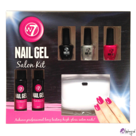 W7 Gel Nagellak Salon Kit - Starter Kit Gelnagellak Set