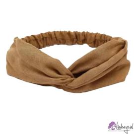 Cross Haarband Velours Camel