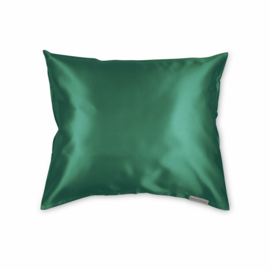 Beauty Pillow  - Satijnen Kussensloop - Forest Green - 60x70