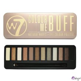 W7 Colour me Buff - 12 Kleuren Oogschaduw Palette