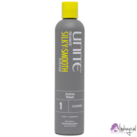 Unite Silky Smooth System cleanse active Wash - Shampoo 300 ml