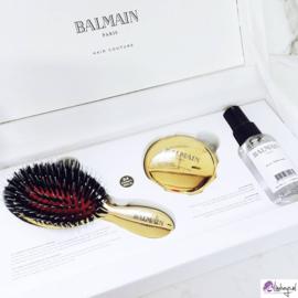 Balmain Hair Mini Golden Brush and Mirror Set