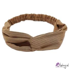 Cross Haarband Camel