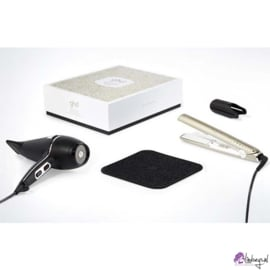 Ghd Deluxe Arctic Gold Dry & Style Gift Set