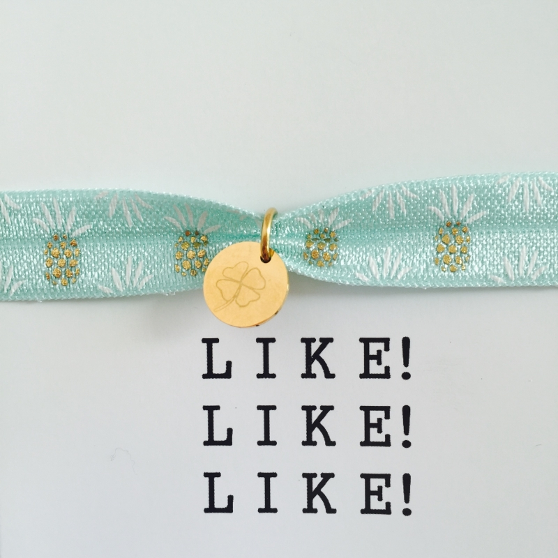 LIKE! armband ananas
