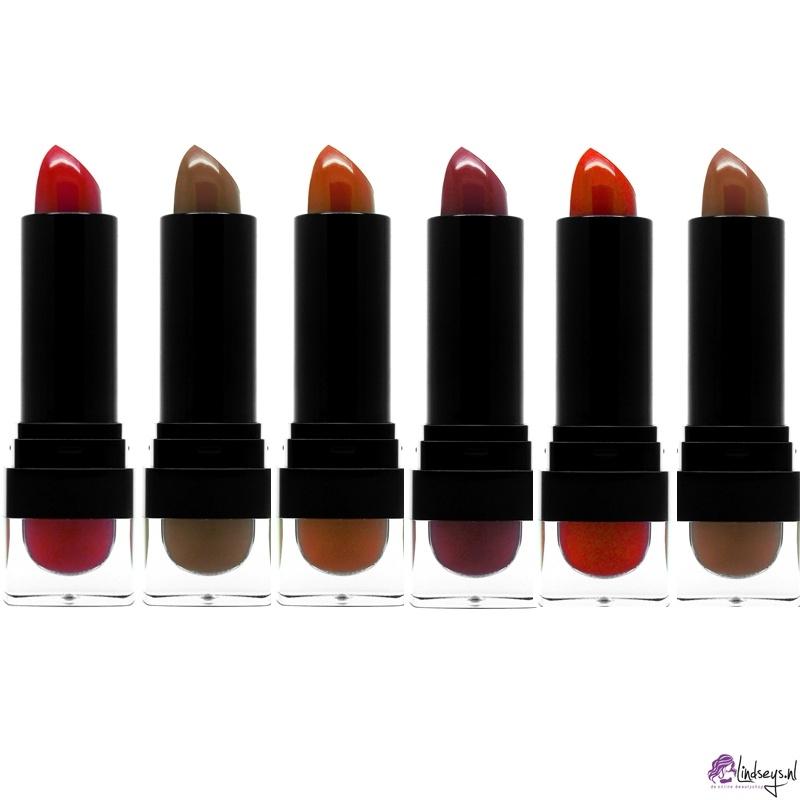 W7 ebony silky smooth lipstick