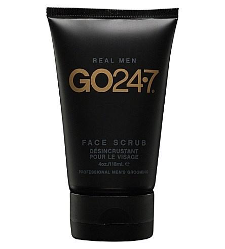 GO 24•7 Real Men Face Scrub