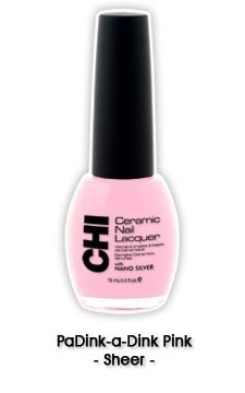 CHI Nail Lacquer PaDink-a- Dink Pink CL036